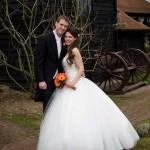 Winter Wedding Crabbs Barn Essex
