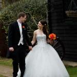 Winter Wedding at Crabbs Barn
