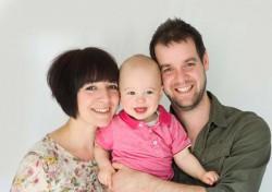 Family portrait in Colchester