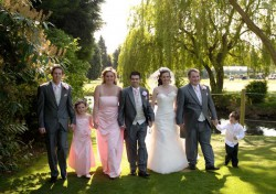 Wedding Photo at Three Rivers Golf and Country Club