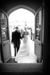 Wedding photo at Maison Talbooth