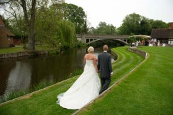 Wedding Photo at Le Talbooth