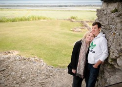 Engagement Photo at Hadleigh Castle