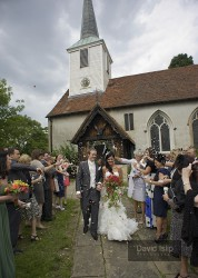 Wedding Photo - St Mary's Church, Chigwell