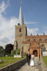 Wedding Photo - St Mary's Church, Great Baddow