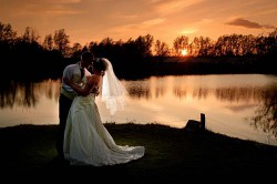 wedding-photographer-essex-bride and groom-sunset