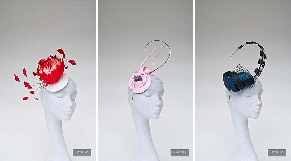 photography of hats for hat maker