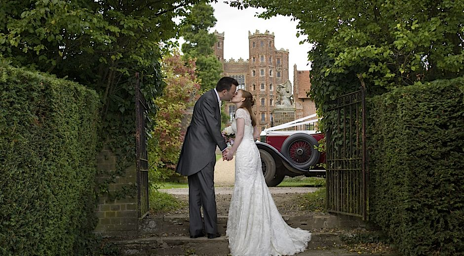wedding photography Layer Marney Tower Essex