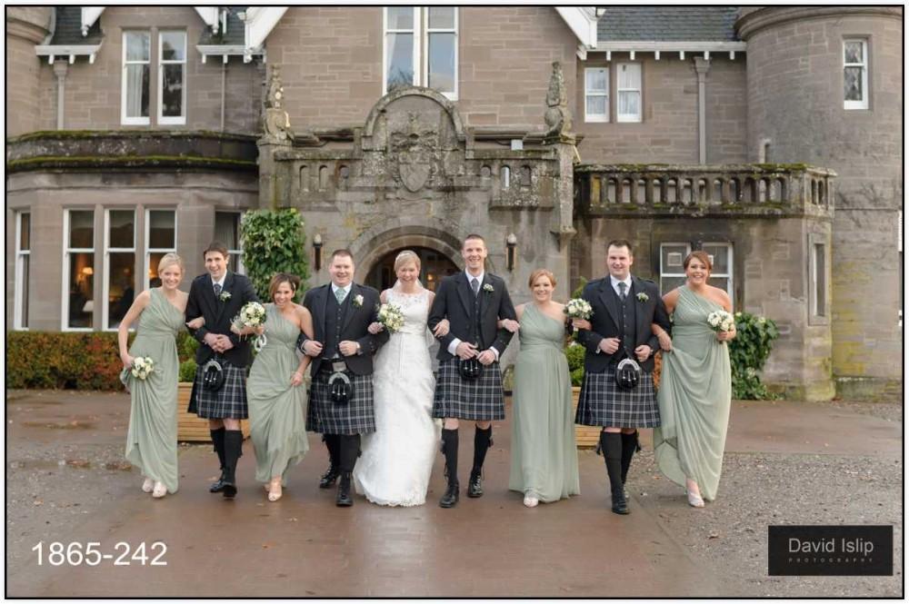 Ballathie House wedding photographer Perth