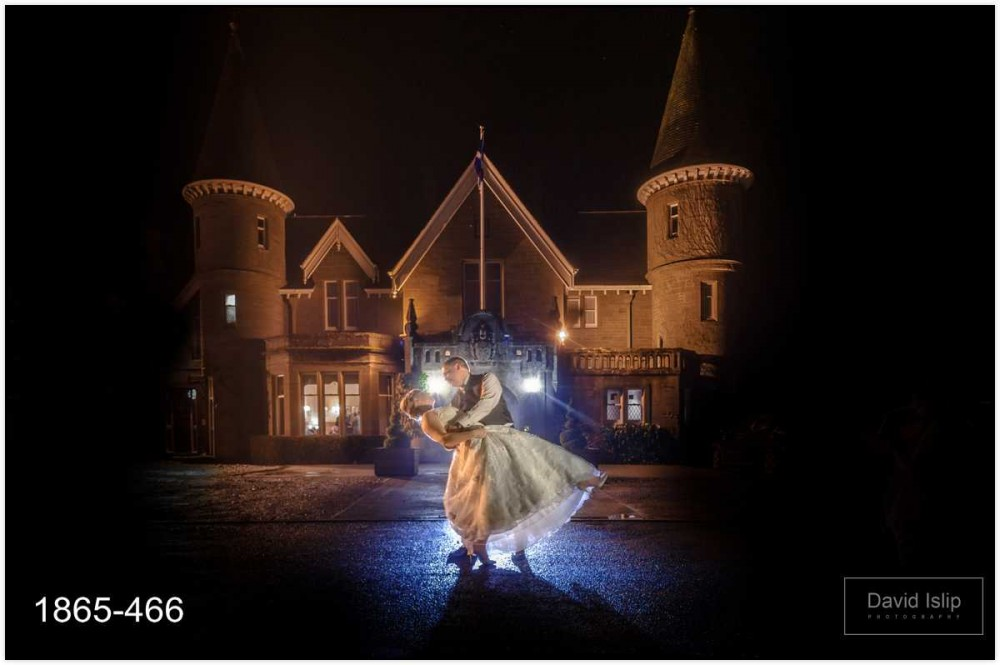Ballathie House Perth winter wedding photographer