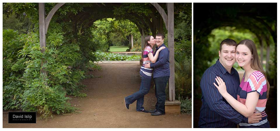 Engagement photography at Hylands Park