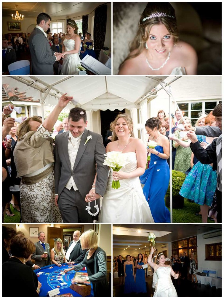 wedding photos from Prested Hall