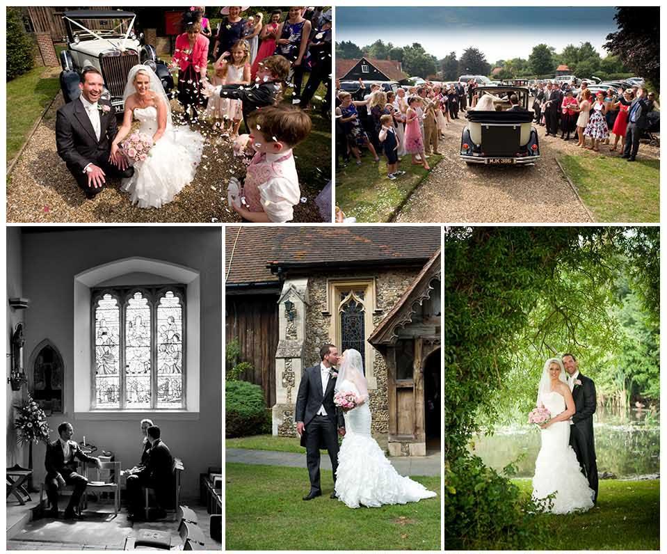 wedding photography at Crondon Park