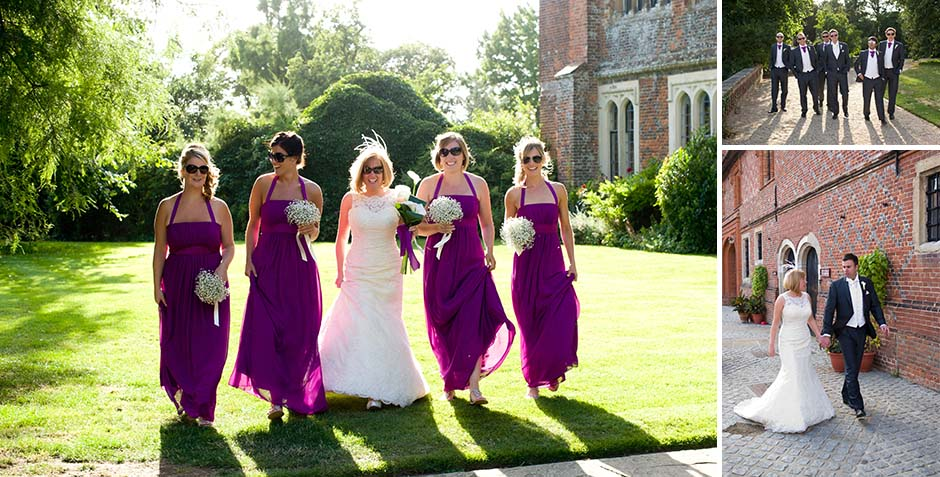 photographs at Layer Marney Tower, Essex