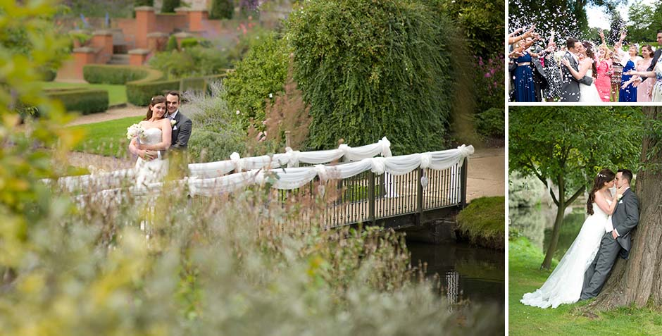 Maidstone wedding photo at Turkey Mill
