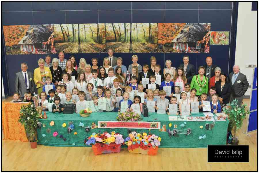 Witham in Bloom Schools Competition 2014