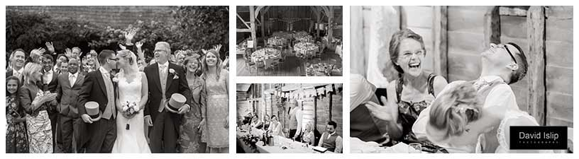 Court lodge black barn stansted kent wedding photography