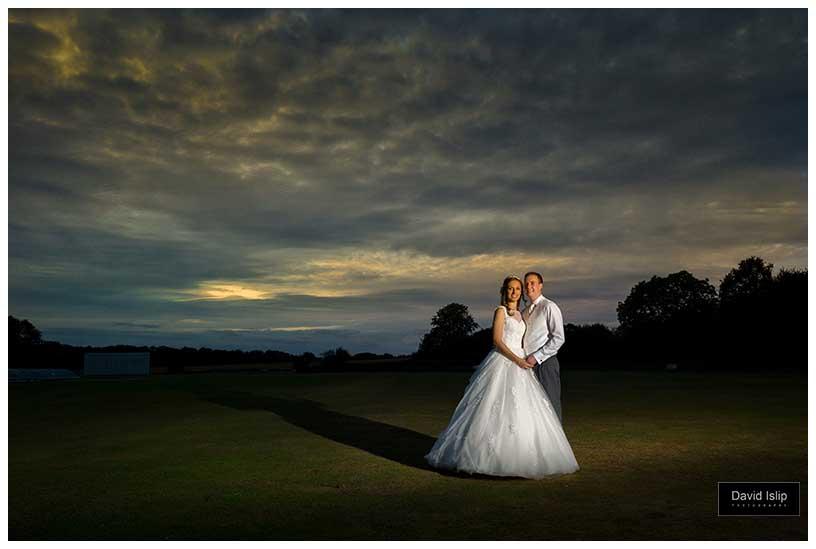 Shenley Cricket Club Herts wedding photographer