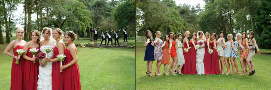 fun wedding photos Essex