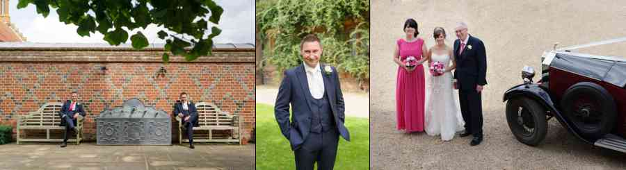 Wedding Photographer Layer Marney Tower Essex