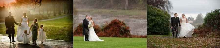 Ballathie House wedding