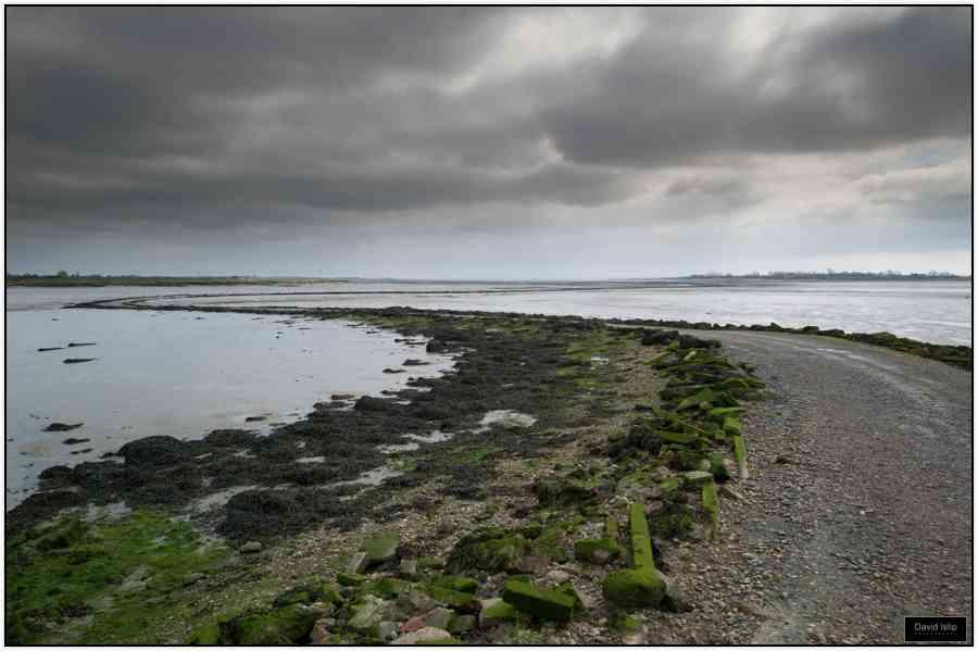 Osea Island causeway