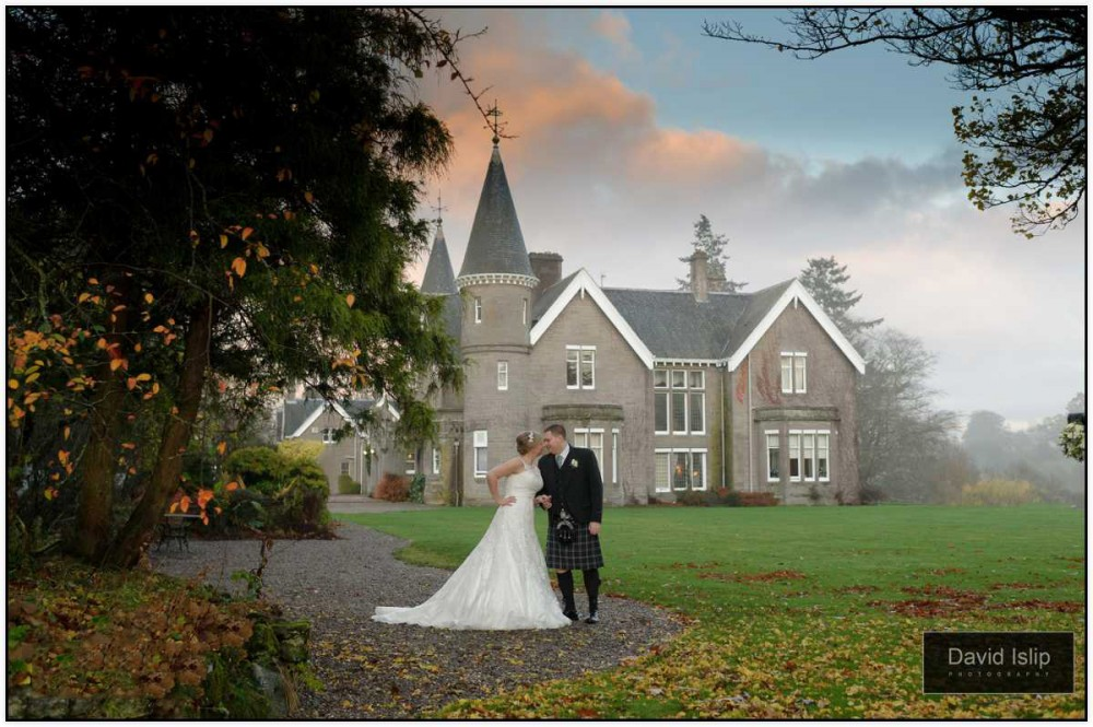 Ballathie House wedding photography testimonial