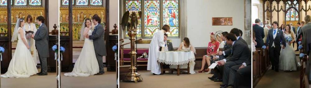 St Nicolas Church Witham Prested Hall Wedding Photos