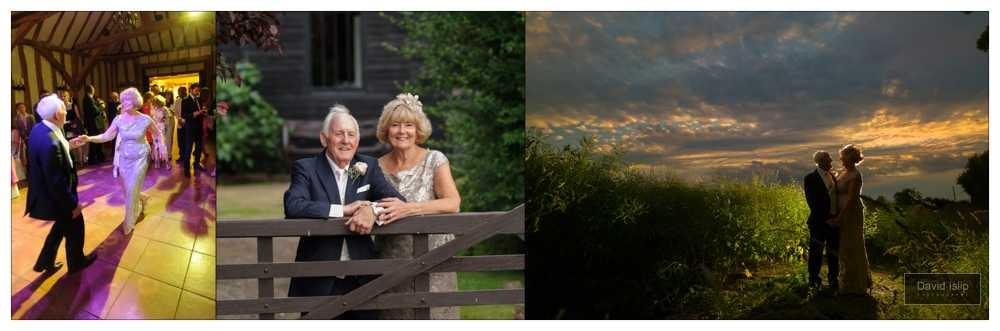 Crabbs Barn Evening Wedding Photography