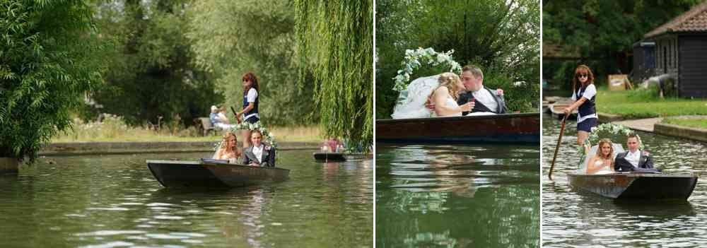 River Cam Cambridge Wedding Photographer