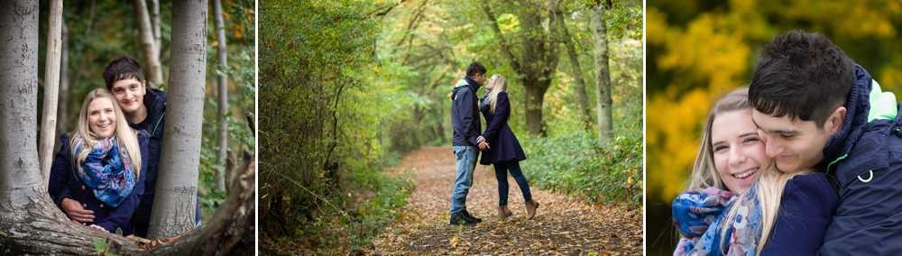 Colchester Engagement Pictures in the woods leica m photography