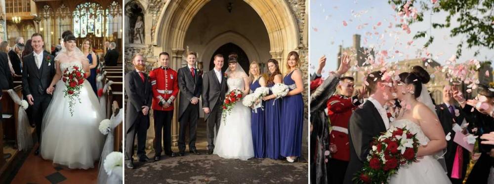 Wedding Photographer Essex St Marys Bocking
