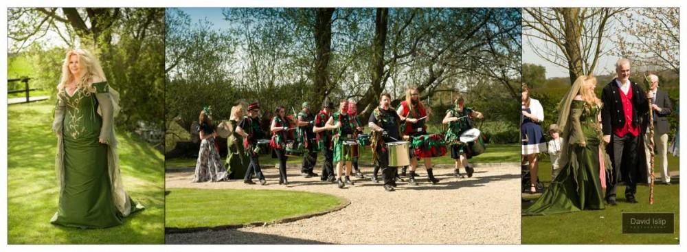 Hand fasting Ceremony Pagan Wedding Photographer Essex