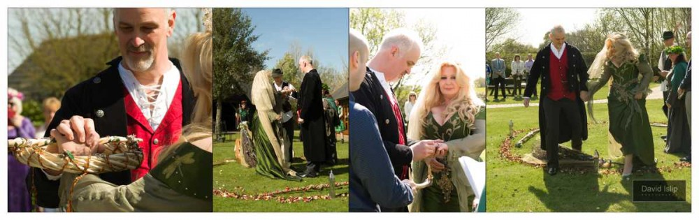 Handfasting Ceremony Photos Crabbs Barn