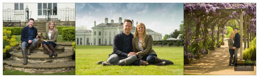 Hylands House Engagement Session