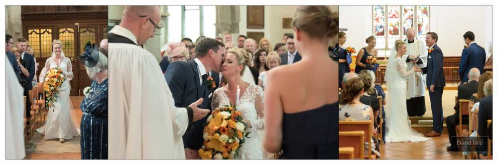 Wedding Photographer St Mary's Church Great Baddow