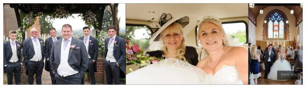 Wedding Photographer St Margarets Church Downham