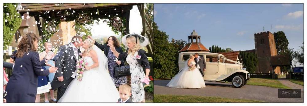 Essex Church Wedding Photographer St Margarets Downham