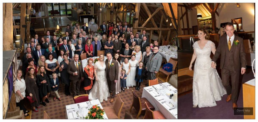 Wedding Photographer The Barn Brasserie