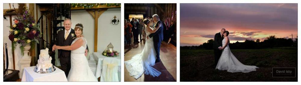 Evening Wedding Photographer Crabbs Barn