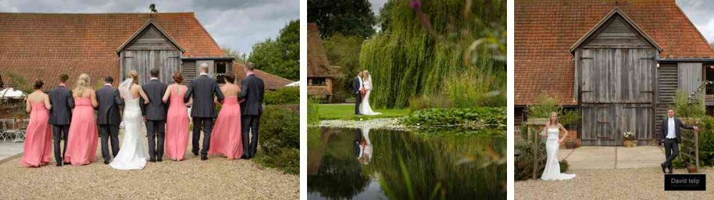 Wedding photos at Moreves Barn